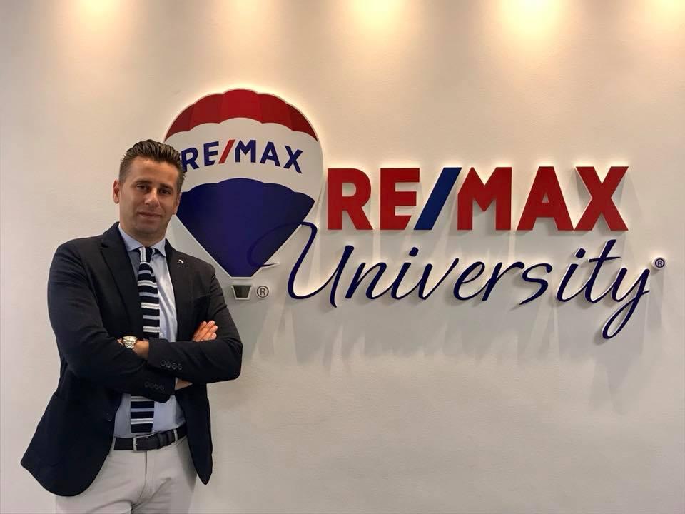 Francesco Nicoletti titolare di RE/MAX Area Ostia