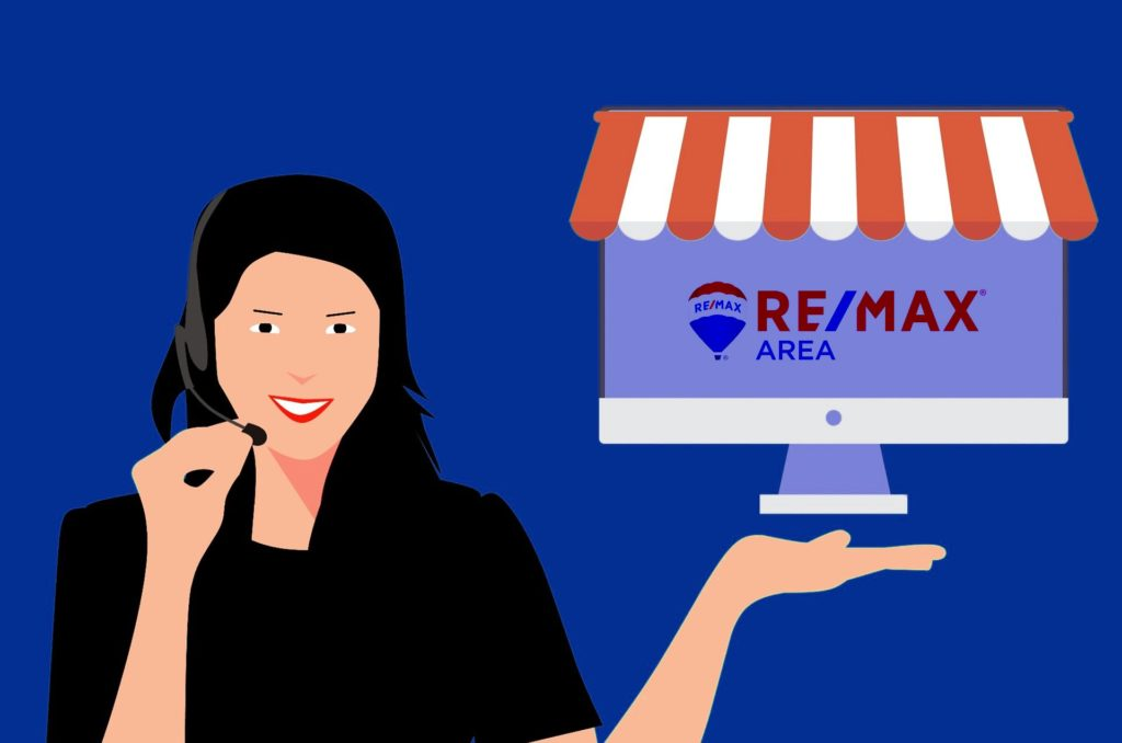 RE/MAX Area è dotata di un efficiente servizio clienti o customer care che ha come obiettivo quello della massima soddisfazione del cliente.
