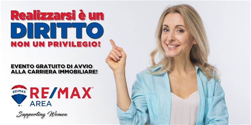 Evento RE/MAX donna 8 marzo 2020