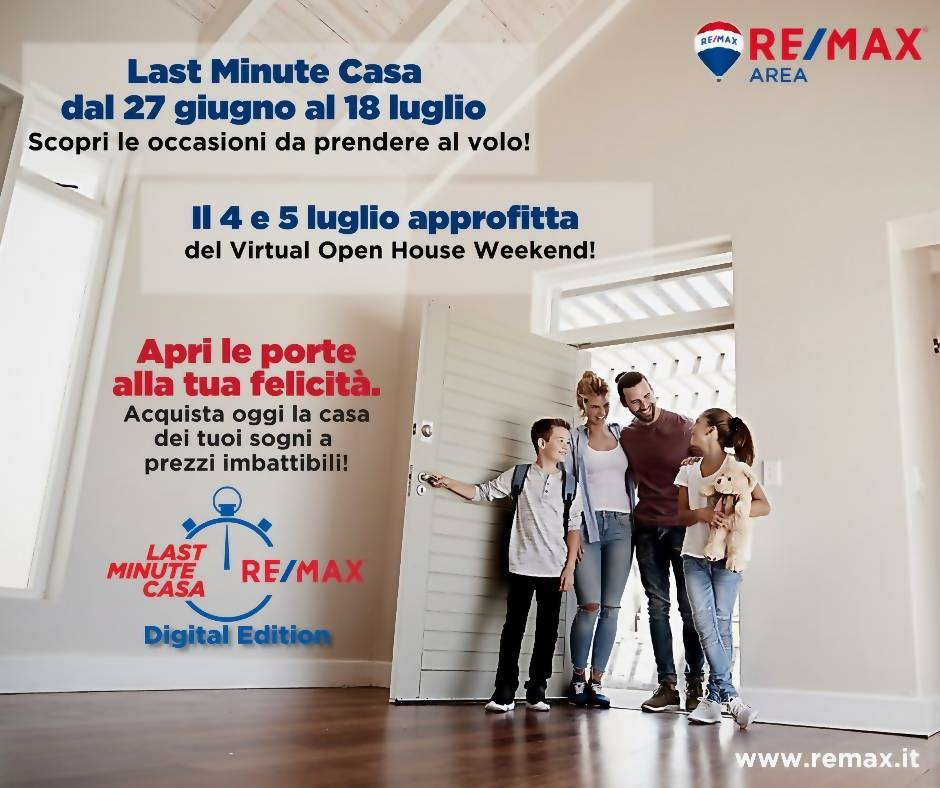 Last minute casa di RE/MAX Area