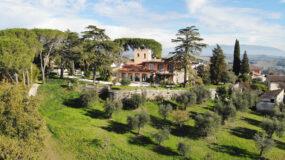 Magliano Sabina, villa unica con terreno e vista panoramica