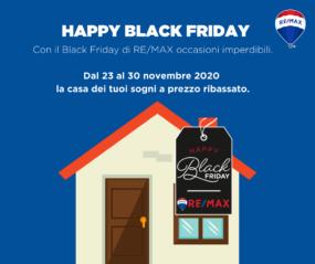 Black Friday Immobiliare ReMax Area Roma