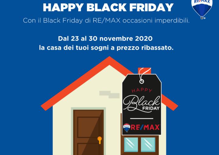 Black Friday Immobili Re/Max Area Roma