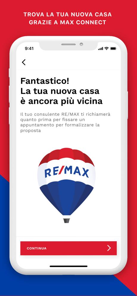 Anteprima app Max Connect
