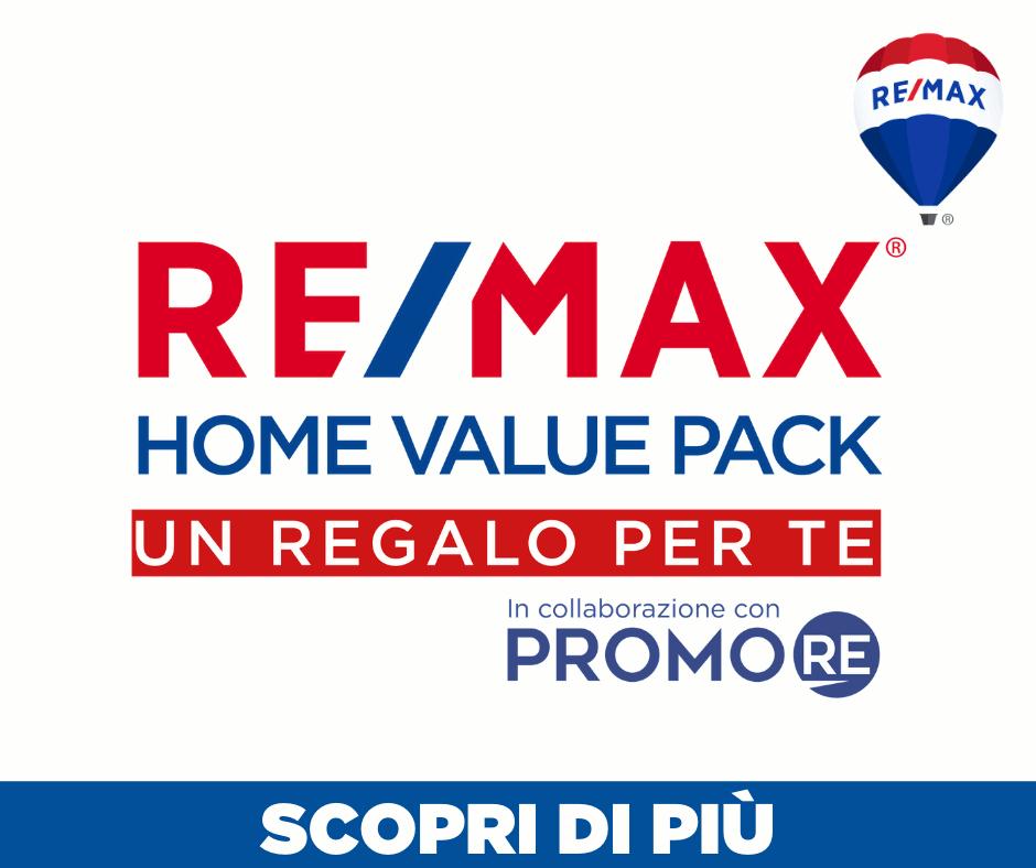 Scopri la nuova promozione di ReMax Area Roma home Value Pack a cura di PromoRe