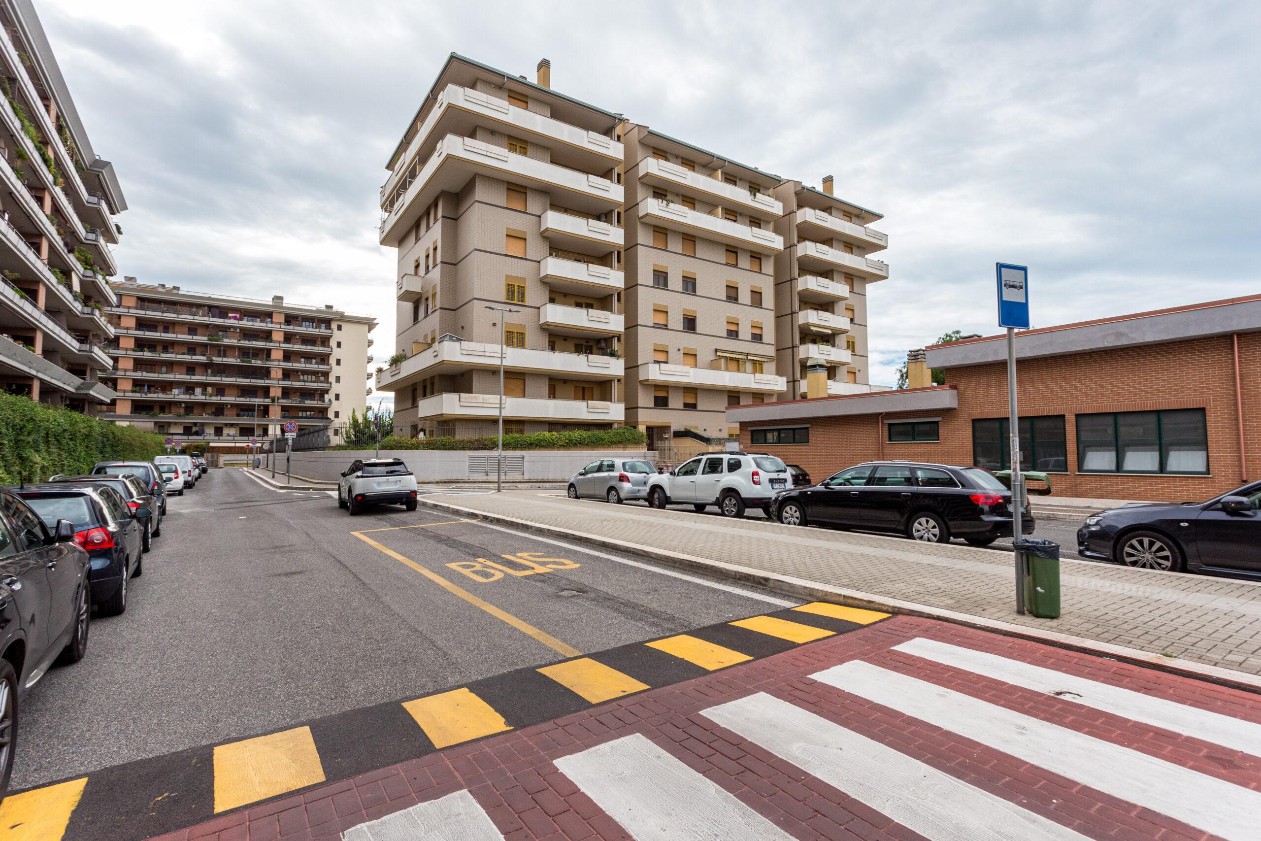 Fiumicino, Parco Leonardo – Bilocale con terrazzo, posto auto e cantina